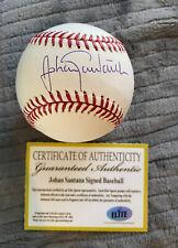 Johan Santana Signed Autographed Baseball Elite COA New York Mets Twins