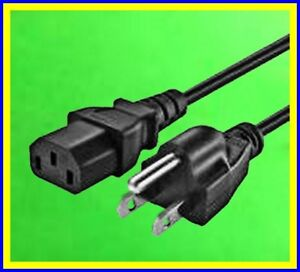 Power Cords 110/115/120vac standard 1/2/3/5/6/10 '/ft/feet/foot 18 guage (Qty 1)
