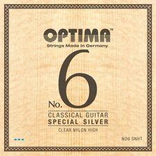 OPTIMA No.6 SPECIAL SILVER Classic STRINGS Nylon High Konzertgitarre Saiten SATZ