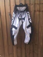 Answer Motocross Mx Kit Pants  Tommy Searle Size 32 Enduro Trousers Black & Grey