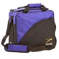 T-Zone Bowling Ball Bag, Single Ball by Brunswick, **Only Purple/Black (NEW)