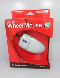 Genuine Microsoft Wheel Mouse PS/2