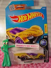 2016 i Hot Wheels BLITZSPEEDER #20 ✰Trans Yellow;Purple; 5✰ X-Raycers✰CASE M/N