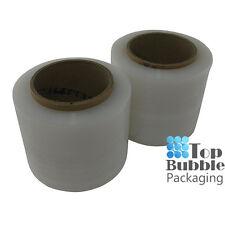 Clear Bundling Film - 100mm x 300m 20um 2 Rolls FREE SHIPPING Stretch Wrap Small