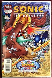 SONIC The HEDGEHOG Comic Book #92 March 2001 KNUCKLES Bagged & Boarded NM-