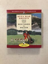 HOUNDED to DEATH. Rita Mae Brown. audio 6 CD's