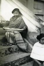 Indochina Laos Vientiane Street Life old Amateur Snapshot Photo 1930
