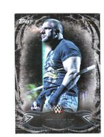 WWE Triple H #50 2015 Topps Undisputed Black Parallel Base Card SN 9 of 99