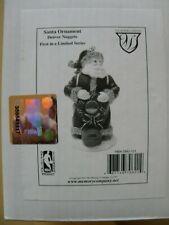 2001 1st Edition NBA Christmas Ornament DENVER NUGGETS Santa Backpack