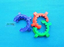 500pcs 29# Plastic Standard ground glass joint clip taper Joint Clamp keck clip