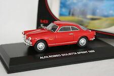 Edison 1/43 - Alfa Romeo Giulietta Sprint 1959 Rouge