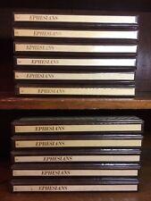11 Cases Ephesians Biblical Cassette Tapes Lot 171ct Audiobooks