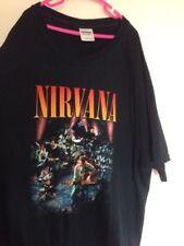 Large Uomo Nero T-shirt con logo nivarna