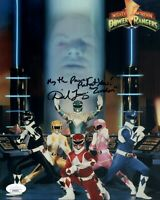 DAVID J. FIELDING Signed POWER RANGERS 8x10 ZORDON Photo Autograph JSA COA Cert