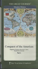 Great Courses Conquest Of The Americas - DVDs & Booklets
