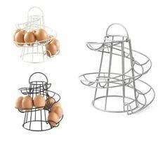 Kitchen Spiral Helter Skelter Egg Holder Stand Rack Storage Holds up to 24 Eggs