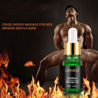 Natural MEN PENIS ENLARGER OIL DICK Growth Faster Enhancement Enlargement Oil