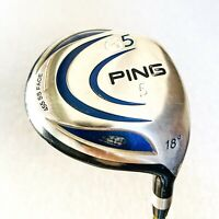 PING G5 5-Wood. 18 Deg, Stiff - Average Condition # 10141