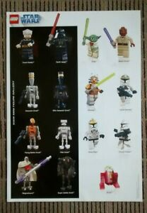 Star Wars Lego Poster - 2009 Minifigure Gallery