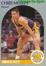 116 CHRIS MULLIN GOLDEN STATE WARRIORS CARD CARTE NBA HOOPS 1990