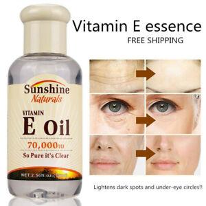 Sunshine Vitamine E Naturelle Huile 75ml Pure Huile Essentielle Anti-âge Ride