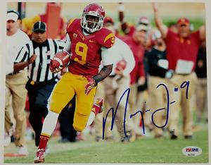 MARQISE LEE Signed 8x10 Photo #1 Auto USC Trojans Jaguars w/ PSA/DNA COA