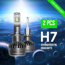 H7 LED Headlight KIT 6000K Bulbs Xenon White CSP COB Porsche Cayenne Panamera