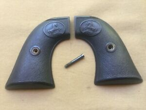 Original Factory First Generation Colt SAA Single Action Army Hard Rubber Grips