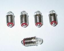 "LED Ersatzlampen (Märklin 600100 / 600200) E5.5 16-24V  -  5 x   ""NEU"""