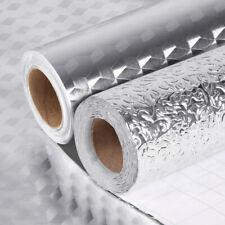 Kitchen Oil-Proof Wall Stickers Waterproof Self Adhesive Aluminum Foil Wallpaper