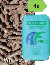 Stallatico Pellet - 4 sacchi da Kg 25 - Concime Naturale Ammendante Pellettato