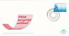 (40163) Netherlands FDC Civil Code 1970