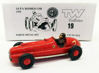 TW Collection 1/43 Scale White Metal Kit 19 - Alfa Romeo 158 1950 - Red