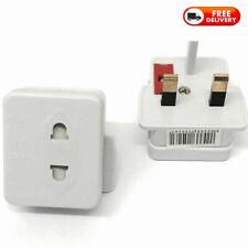 EU 2 Pin To 3 Pin UK ELECTRIC SHAVER TOOTHBRUSH PLUG ADAPTOR/PLUG