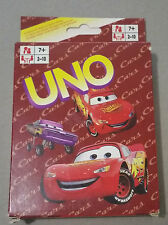 UNO playing cards game juego de cartas - CARS - popular cartoon - FAMILLY GAME