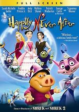 Happily N'Ever After (DVD, 2007, Full Frame)  ***Brand NEW!!***
