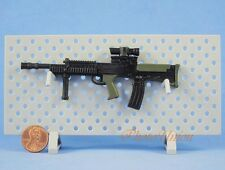 1:6 Scale Action Figure SA80 L85 L85A2 British Rifle MACHINE GUN MODEL Green G17