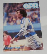 Queens Park Rangers -v- Grimsby Town 1981-1982