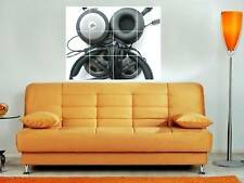 "JBL HEADPHONES HUGE 35""X33"" MOSAIC  WALL POSTER DJ"