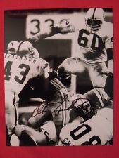 Otis Sistrunk Oakland Raiders Football Autograph 8 X 10 Photo