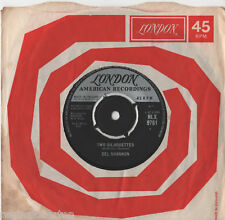 """Del Shannon-dos siluetas 7"""" solo 1963"""
