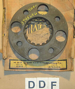 OE 1959 Chevrolet Truck Air Brake Compressor Pulley ~ GM Part # 3745656