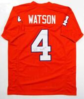 Deshaun Watson Autographed Orange College Style Jersey- JSA W Authenticated *4