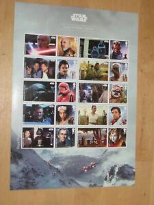 2019 Star Wars III Collector Sheet - Generic / Smiler Sheet