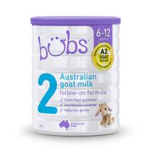 NEW Bubs Australian Goat Milk Follow-on Formula Stage 2 800g 6 - 12 Months A2