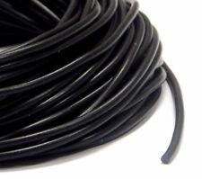 Kautschukband 4mm Schwarz Schmuckherstellung Kautschukschnur Fäden Bänder C66
