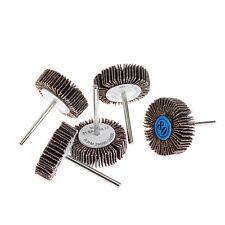 5Pcs Sandpaper Flap Polishing Disc Set Wheel For Rotary Tools Shutter Power Hot