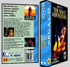 The Space Adventure - Sega CD Reproduction Art DVD Case No Game