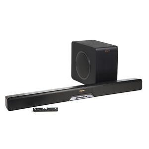 Klipsch RSB-11 Powered Sound Bar 4K Pass, Wireless Sub, Bluetooth. Free Shipping
