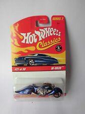Hot Wheels Classics Serie 2 - W-Oozie blaumetallic
